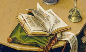 The Merode Altar Piece - Robert Campin (Detail)-