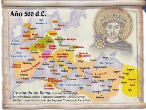 EUROPA EN EL SIGLO V