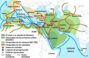 rutas_comerciales_islámicassssssssssss